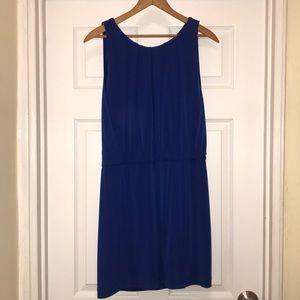 {Jessica Simpson} Cobalt Blue Dress